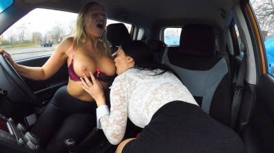 FakeDrivingSchool – Hot Blonde Student Has Oral Test