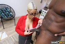 Bridgette B Amazed By This Long Cock