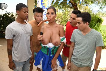 Brazzers – It's A Sausage Fest