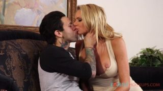 FamilyHookups – Busty blonde milf Briana Banks gets railed by her hung stepson