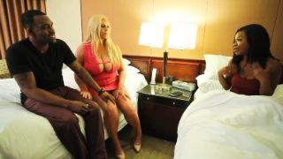 Busty MILF Shares her Man