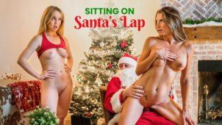 Sitting On Santas Lap