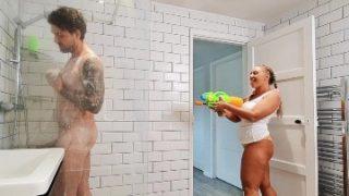 Shower Pranking Sex