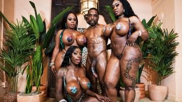 6 Big Black Tits